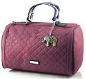 Katie Doctor Bag in Maroon